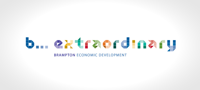 Brampton Economic Development Logo Design