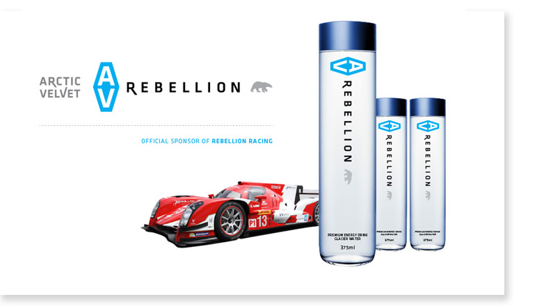 Bottle Design: AV Rebellion
