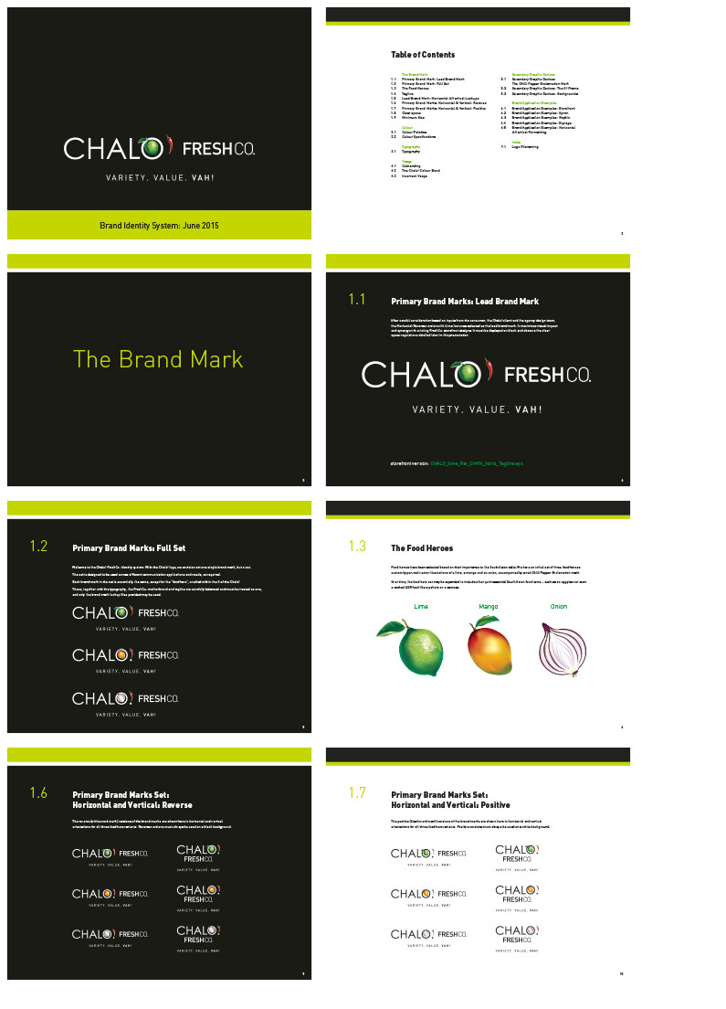 Chalo! FreshCo  - Segovia Advertising & Design Inc