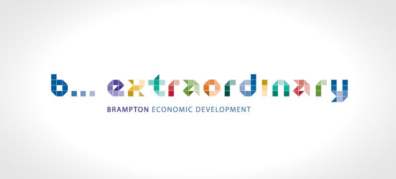 Brampton Economic Development Logo Design