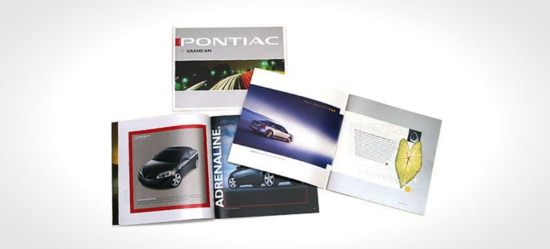 GM Auto Brochures