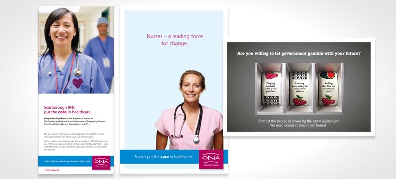 ONA Print Ads